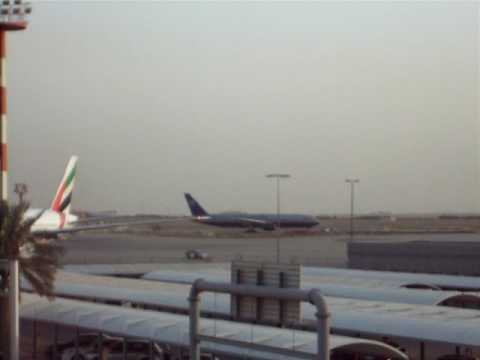 United Airlines at Kuwait International Airport