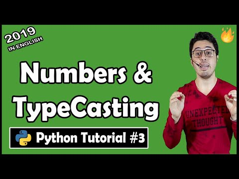 Numbers & Typecasting in python | Python Tutorial #3 thumbnail