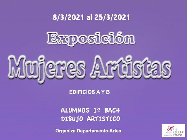 Exposición: Mujeres Artistas