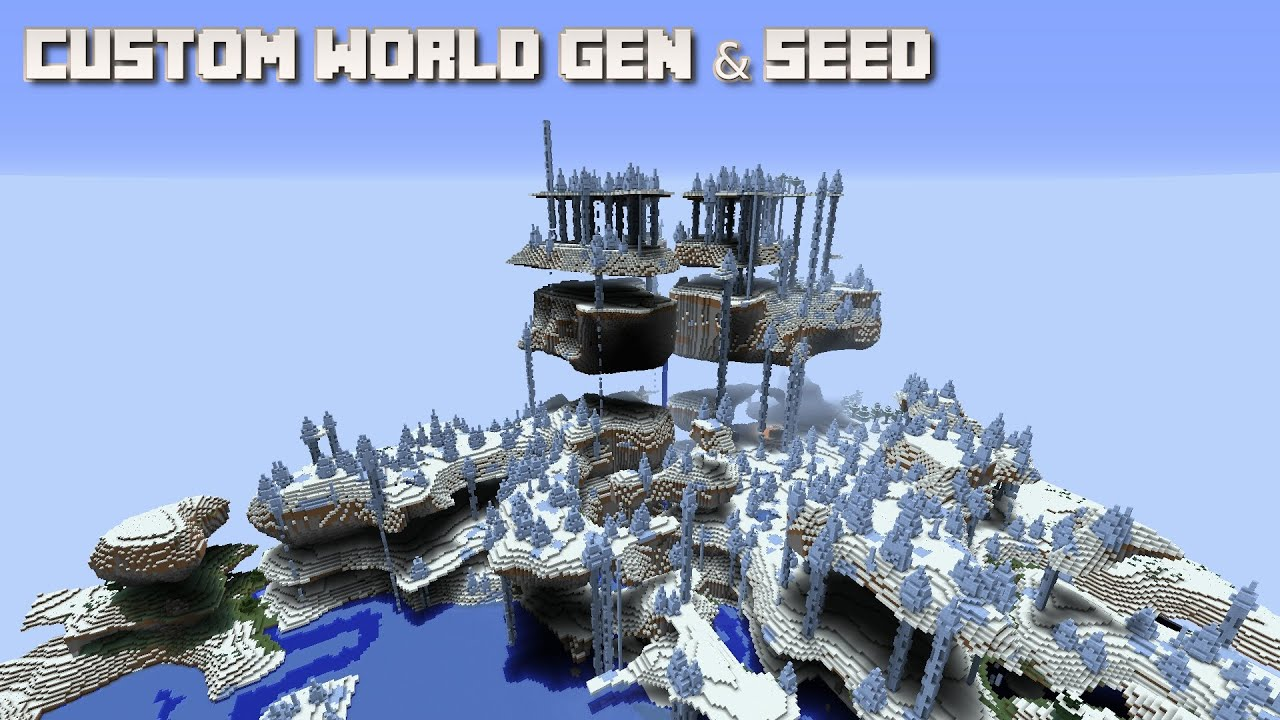 Minecraft special world generation seed youtube minecraft special world generation seed gumiabroncs Images