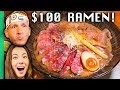 $2 Ramen VS $100 Ramen in Tokyo, Japan!!! Never Seen Before!!