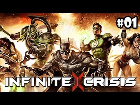 Infinite Crisis Beta Gameplay Español - Un LOL con superheroes de DC!