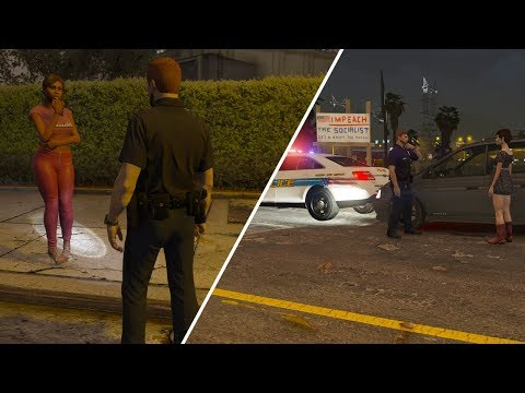LSPDFR  Day 591  She RearEnded a Cop Car