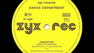 Dance Department - Paradise (Extended Version HQ Audio) 1986