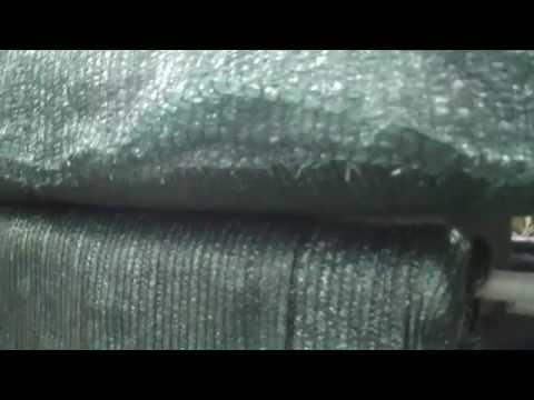 Сетка затеняющая 60%, зеленая, ширина 6м50м