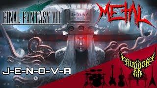 Final Fantasy VII - J-E-N-O-V-A 【Intense Symphonic Metal Cover】