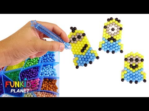 AquaBeads Minions Character Set Toy and Surprises with Paw Paw Patrol Skye