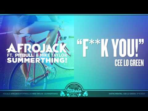 Afrojack & Mike Taylor vs. Cee-Lo Green - SummerThing! feat Pitbull (Mashup)