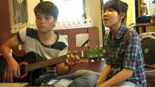 Giọt sương và chiếc lá- Cover by Min Sama - guitar Bi Sama