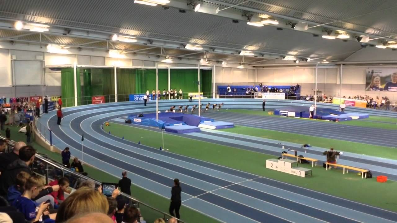 Reece palmer 60m na start fitness open meeting eis for Timetable 85 sheffield