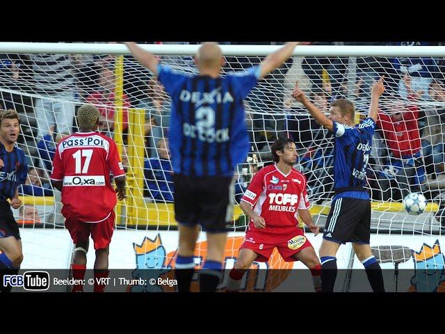 2005-2006 - Jupiler Pro League - 01. Club Brugge - Excelsior Mouscron 2-0