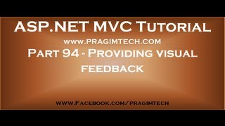 Part 94   Providing visual feedback using LoadingElementId AjaxOption