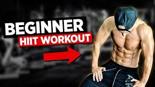 Beginner HIIT Follow-along Workout!