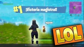 THANOS VS JUGADOR EN FORTNITE! - CON MI NOVIA - ErickGames