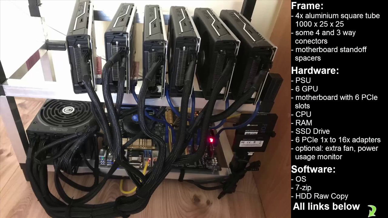 cryptocurrency mining rig power consumption
