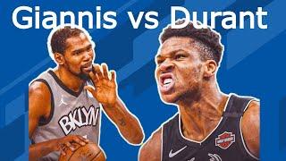 Giannis e Durant: la differenza nella serie Nets-Bucks