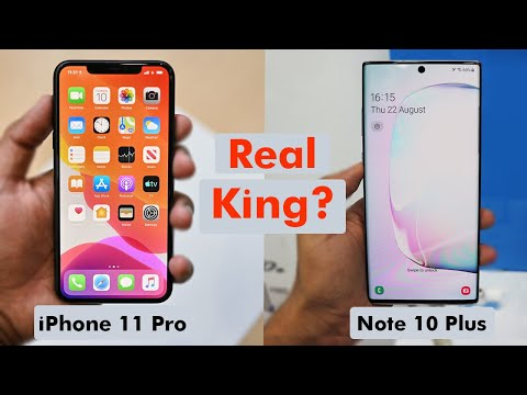 IPhone 11 Pro VS Note 10 Plus - Apple VS Samsung | Who Is Real King?