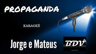 Baixar Jorge & Mateus - Propaganda - Karaokê