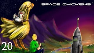 Minecraft Space Chickens - S2E20 - Rocket Time