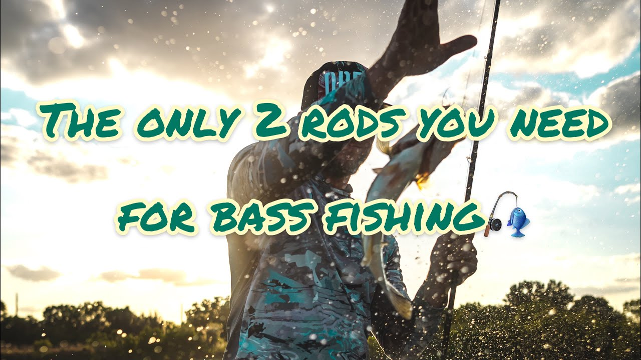 Two Best All Around Rods For Bass Fishing!!