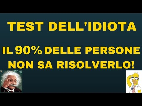 THE IDIOT TEST - Scientific Proof That 90% of People are Stupid