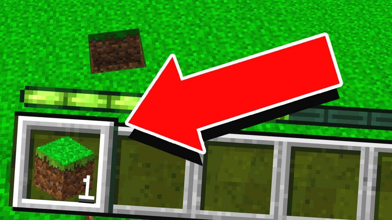PLAYING MINECRAFT WITH 1 BLOCK is it possible