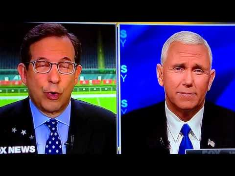 Even Fox News Can't Stay Silent: Mike Pence Interview