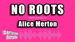 Alice Merton - No Roots (Karaoke Version)