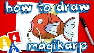 How To Draw Magikarp Pokemon