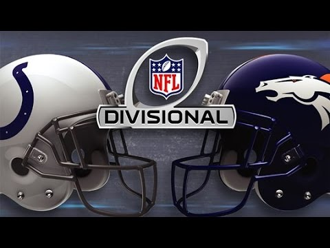 Madden NFL 15 - Divisional Playoffs 2015 - Colts Vs Broncos (HD)