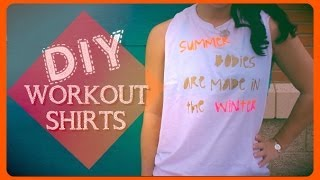DIY Workout shirts Thumbnail