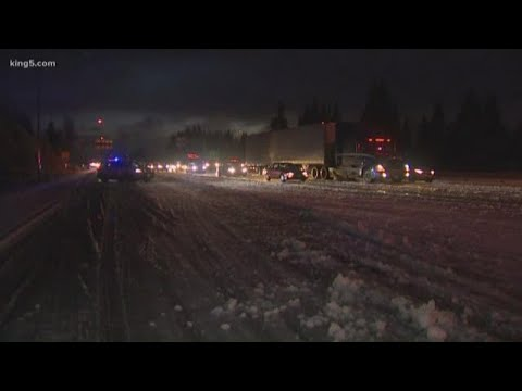 Arctic Blast Dumps Lowland Snow North Of Seattle