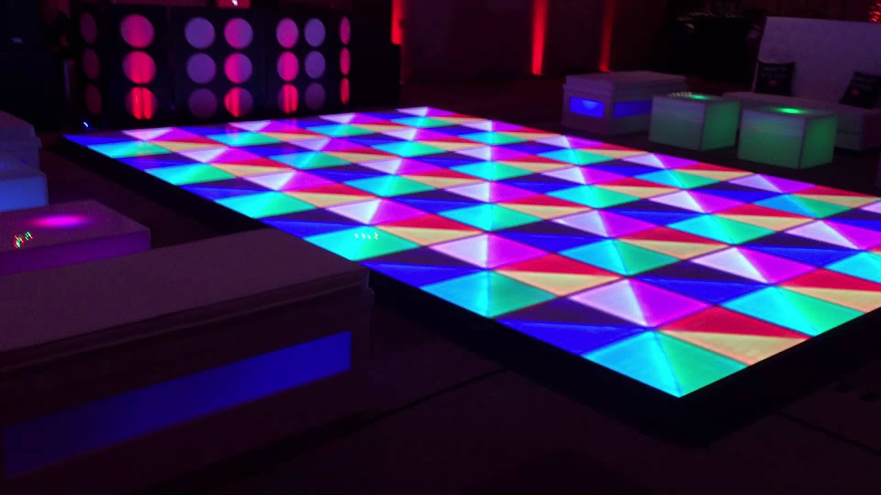 Led Dance Floor Solaris Mood Samba Entertainment Dj Efi