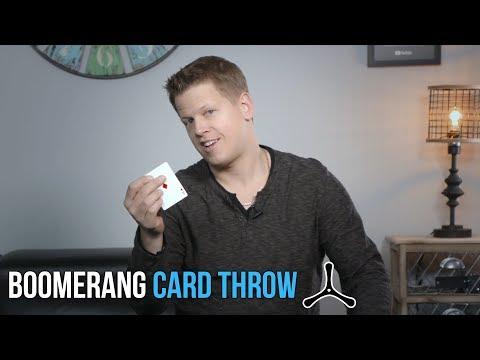 Throw A Card Like A BOOMERANG | Rick Smith Jr.