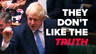 Boris Johnson schools Corbyn over the NHS