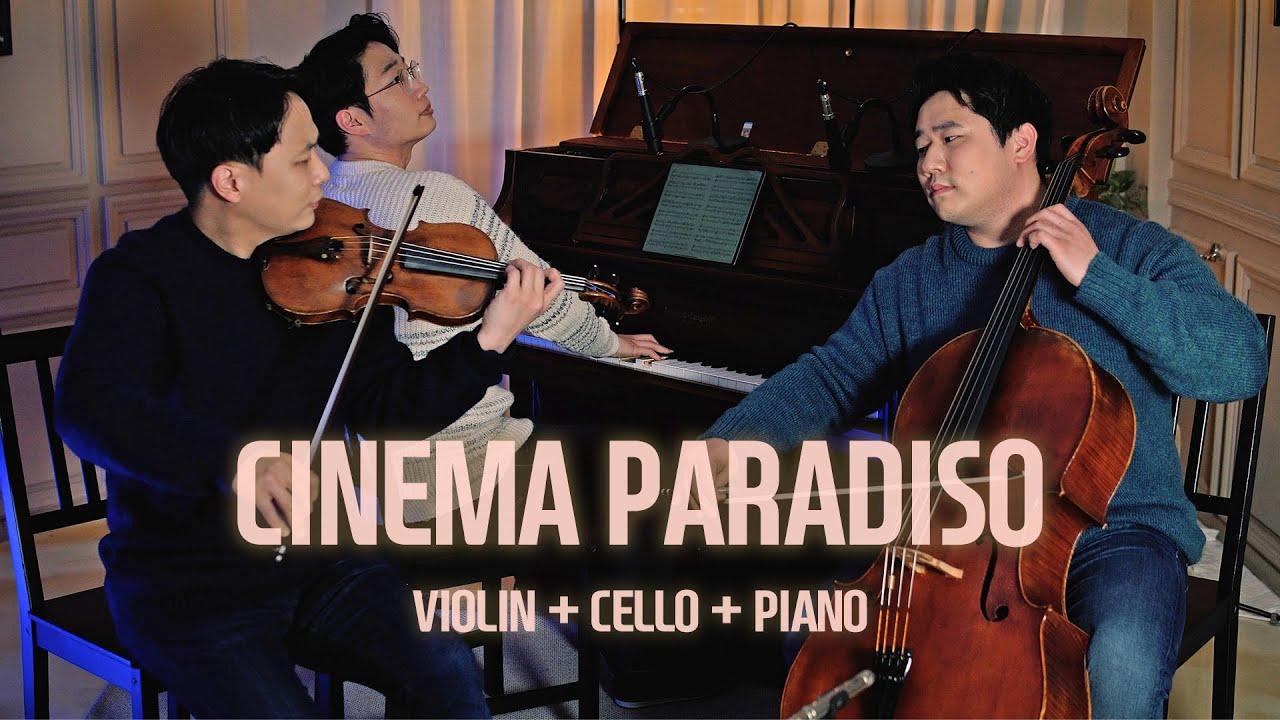'Cinema Paradiso OST' Live 🎬 Ennio Morricone (Violin+Cello+Piano)