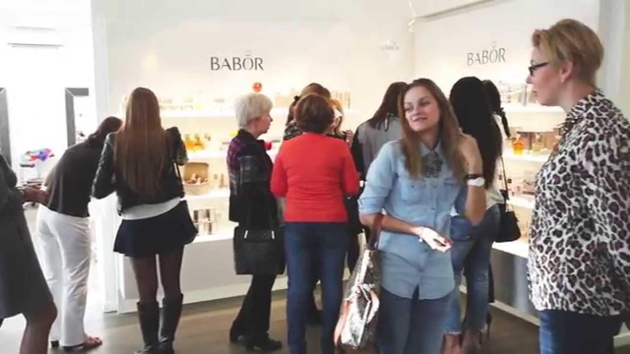 Открытие BABOR BEAUTY SPA в Самаре - YouTube