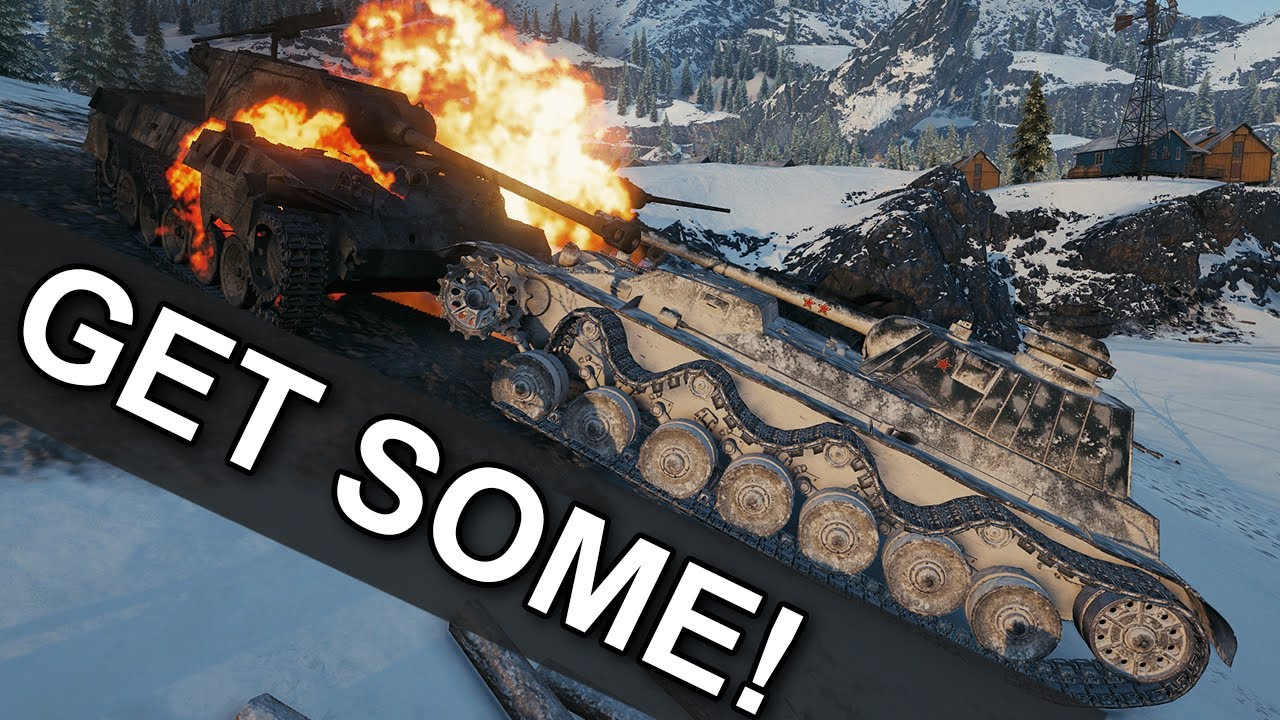 GET SOME! - A-44 - World of Tanks