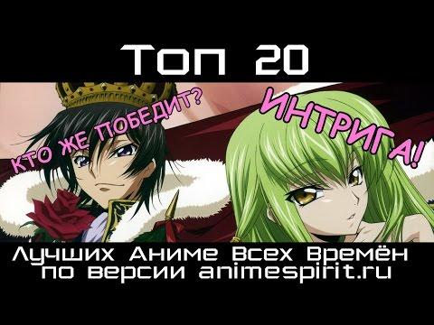 Топ 20 Лучших Аниме Всех Времён по версии animespirit.ru