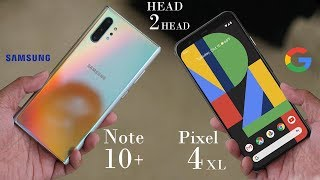 Google Pixel 4 XL vs Note 10 Plus