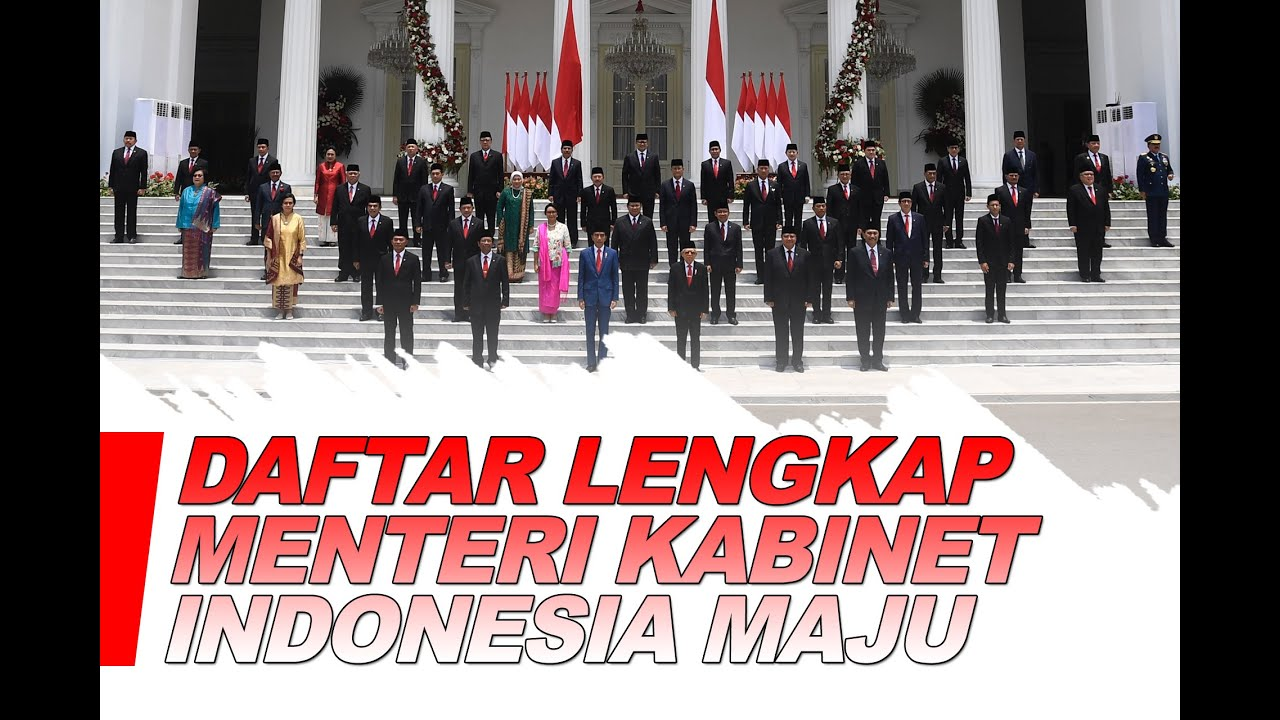 FULL! Pengumuman Menteri Pilihan Jokowi di Kabinet Indonesia Maju - Breaking iNews 23/10