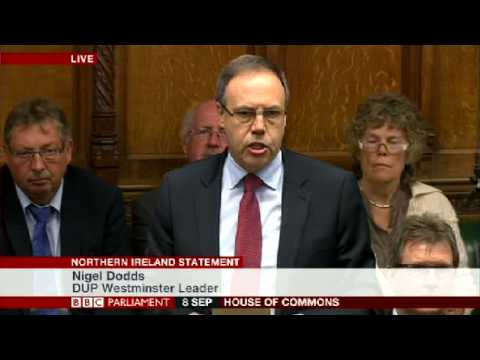 Nigel Dodds Talks Must Implement Stormont House Agreement Tackle