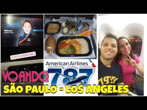 VOANDO AMERICAN AIRLINES BOEING 787-9 DREAMLINER