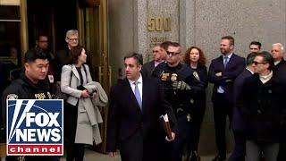 Michael Cohen departs courthouse after sentencing thumbnail