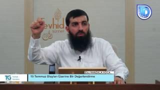 Ebu Hanzala Hoca - Fetullah Gülen Cemaati konusunda ''Biz Aldatıldık Diyenler''