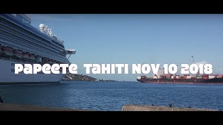 One Day On Tahiti Nov 10 2018 Emerald Princess Cruise