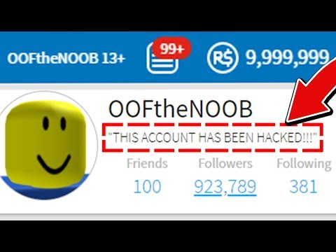 HOW TO HACK A NOOB'S ROBLOX ACCOUNT! *TUTORIAL*