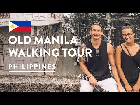 BOMBS, CHURCHES & CEMETERIES - INTRAMUROS OLD MANILA WALKS TOUR | Philippines Vlog 110, 2018