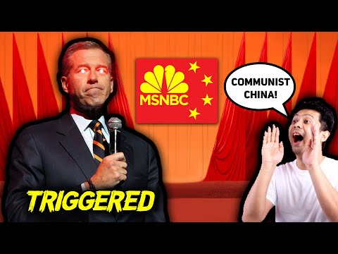 INSANE: MSNBC Host Triggered By 'Right Wingers' Calling China Communist