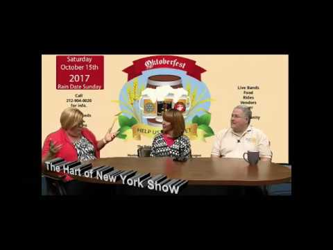 The Hart of New York Show with Rotary members Christine De Hart and Charles Di Bartolo
